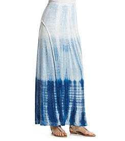 Studio West Ombre Tie Dye Maxi Skirt