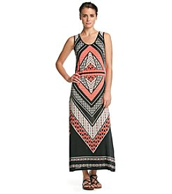 Studio West Multi Print Maxi Dress
