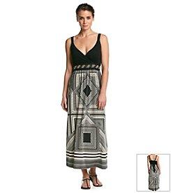 Studio West Multi Print Maxi Dress