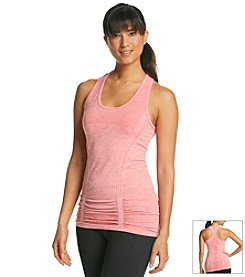 Exertek® Heathered Seamless Racer Back Tank