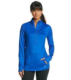 Exertek® Geometric Pattern Half Zip Pullover