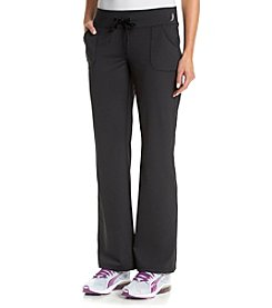 Exertek® Wide Waist Band Semi Fit Pant With Pockets
