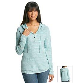 Ruff Hewn Henley Hoodie Sweater