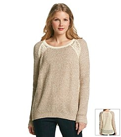Olivia Sky Pullover Knit Sweater