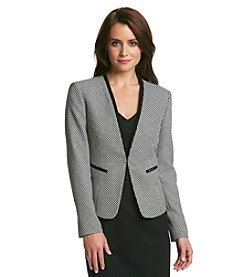 Nine West® Tweed Jacket With Piping