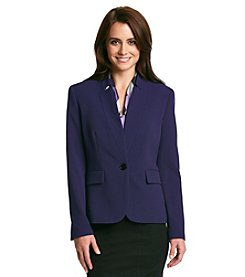 Nine West® Inverted Notch Collar Jacket