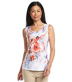 Laura Ashley® Textured Print Sublimation Tank