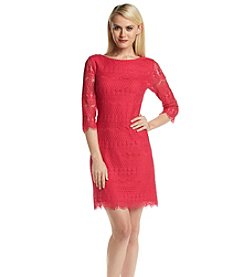Jessica Howard® Shift Lace Dress