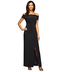 Alex Evenings® Off Shoulder Lace Gown