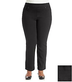 Gloria Vanderbilt® Plus Size Avery Pull On Denim Jean