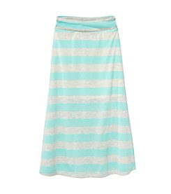 Amy Byer Girls' 7-16 Striped Maxi Skirt