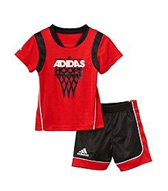 adidas® Baby Boys' Rival Shorts Outfit Set