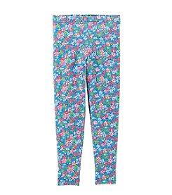 Carter's® Girls' 2T-4T Floral Print Leggings