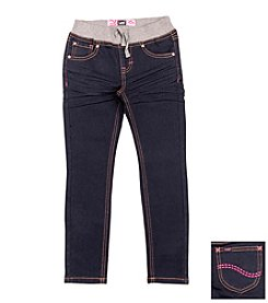 Lee® Girls' 2T-6X Pull On Knit Jeans