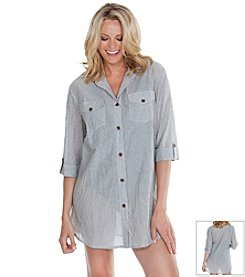 Dotti® Summer Camp Shirt Dress Coverup
