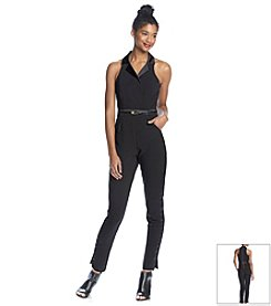 XOXO® Tuxedo Jumpsuit