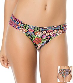 Jessica Simpson Folkloric Side Shirred Hipster Bottoms