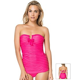 Jessica Simpson Seashells Swimdress One Piece
