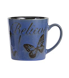 Pfaltzgraff® Everyday Inspirational Blue 'believe' Mug