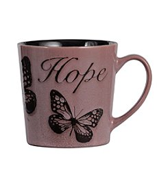 Pfaltzgraff® Everyday Inspirational Pink 'hope' Mug