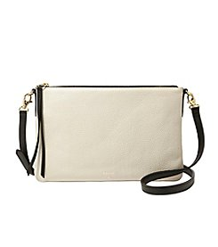 Fossil® Sydney Colorblock Top Zip Crossbody