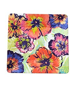 LivingQuarters Tropical Square Platter