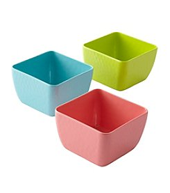 LivingQuarters Tropical Dipping Bowl