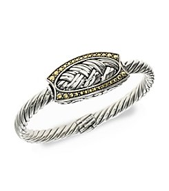 Effy® Balissima Bangle Bracelet in Sterling Silver & 18K Gold