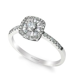 Effy® 0.41 ct. t.w. Diamond Ring in White Gold