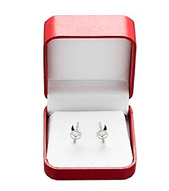 0.33 ct. t.w. Diamond Drop Earrings in 10K White Gold