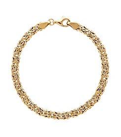 Byzantine Link Bracelet in 10K Gold