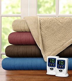 Beautyrest® Solid Microlight and Berber Heated Blanket