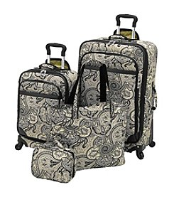 Waverly® Boutique Onyx Paddock-Shawl 4-pc. Luggage Set