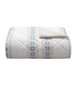 Woolrich® Bromley Mink Down-Alternative Filled Throw