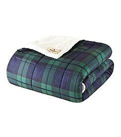 Woolrich® Brewster Softspun Down-Alternative Filled Throw