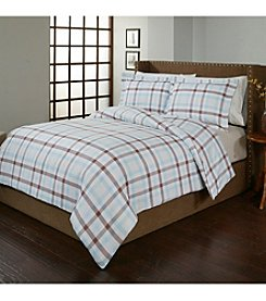 Pointehaven Monet UltraSoft Flannel Duvet Set