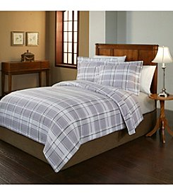 Pointehaven Jensen UltraSoft Flannel Duvet Set