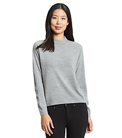Carolyn Taylor Solid Long Sleeve Sweater