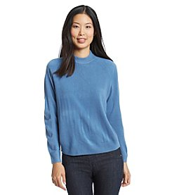 Carolyn Taylor Solid Half Zip Sweater
