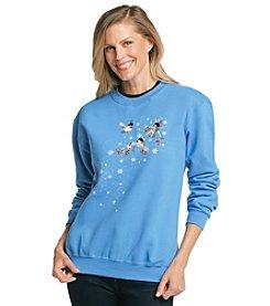 Morning Sun® Icy Berry Branch Sweatshirt