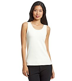 Cupio Basic Seamed Tank Top