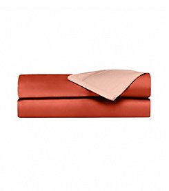 Elite Home Products Spice Reversible 600-Thread Count Cotton Rich Sheet Set