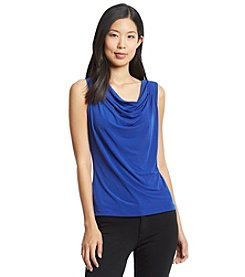 Calvin Klein Pleated Shoulder Jersey Cami