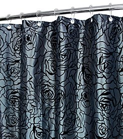 Watershed™ Cabbage Rose Shower Curtain