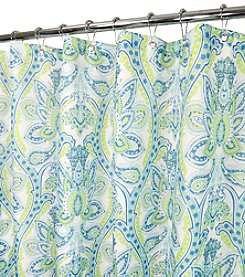 Watershed™ Floral Swirl Shower Curtain