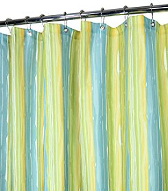 Watershed™ Washed Stripe Shower Curtain
