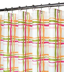 Watershed™ Wavy Plaid Shower Curtain