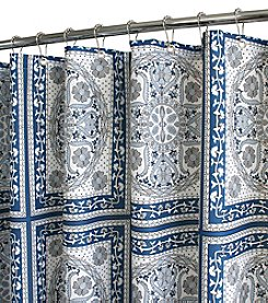 Watershed™ Medallion Tiles Shower Curtain