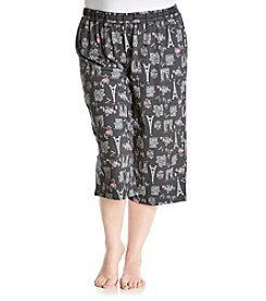 KN Karen Neuburger Plus Size Crop Pants