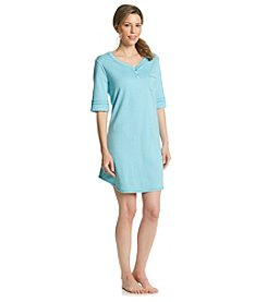 KN Karen Neuburger Aqua Night Shirt